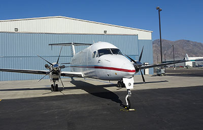 Beech 1900 Series with 5-blade MTV-27